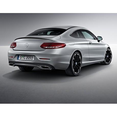 Original Mercedes-Benz Heckspoiler Spoiler Carbon-Style - C-Klasse Coupe 205