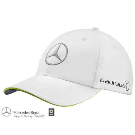 Original Mercedes-Benz Cap Basecap Laureus weiß Unisex