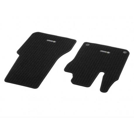Original smart 453 fortwo forfour Fußmatten Rips vorn 2-teilig schwarz