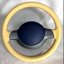 Original smart fortwo roadster 450 452 Lenkrad Airbag beige