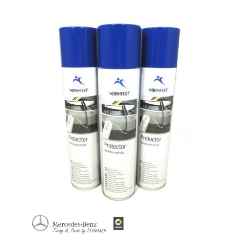 3x Hohlraumschutz Hohlraumkonservierer Hohlraumversiegelung Normfest 400ml