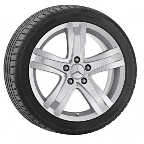 """4x Mercedes-Benz Winterräder, Komplettradsatz GL-Klasse 166 - 255/55 R18"""" Zoll"""