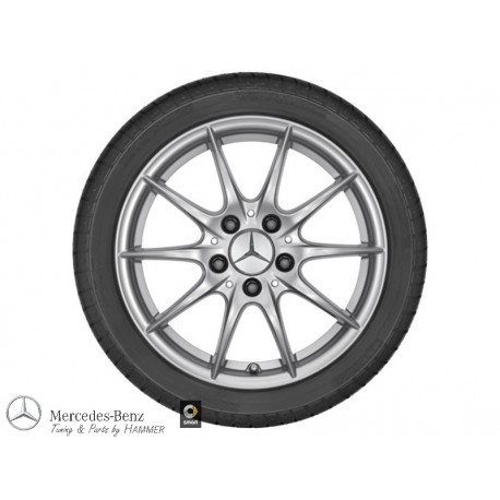 4x Original Mercedes-Benz Winterräder A-Klasse 169 Dunlop Komplettradsatz