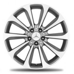 4x Original Mercedes-Benz Felge C-Klasse 205 10-Speichen-Rad 19 Zoll - Felgensatz