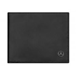 Original Mercedes-Benz Geldbörse Geldbeutel schwarz Kalbsleder