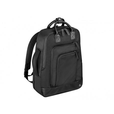 Original Mercedes-Benz 2 in 1 Rucksack schwarz Polyester