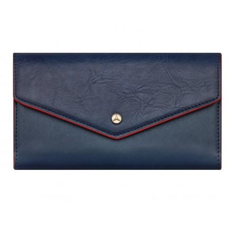 Original Mercedes-Benz Geldbörse Geldbeutel blau Fritzi aus Preußen