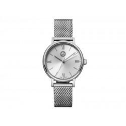 Original Mercedes Benz Armbanduhr Damen Classic Lady Silver B66041621