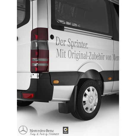 Original Mercedes Benz Rückleuchten Heckleuchten Sprinter 906 Black Line
