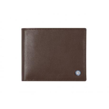 Original Mercedes-Benz Geldbörse Geldbeutel braun Rindleder