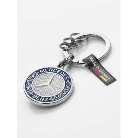 Orginal Mercedes-Benz Schlüsselanhänger Stuttgart silber B66041524