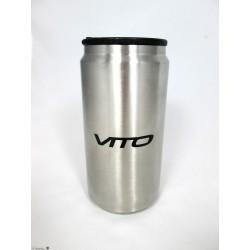 Orig. Mercedes-Benz Vito Thermobecher Isolierbecher Trinkbecher silberfarben Edelstahl