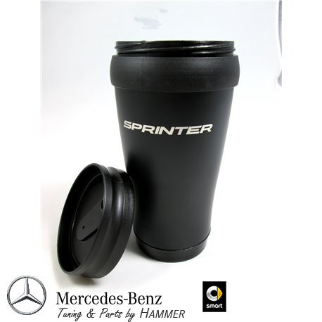 Original Mercedes-Benz Thermobecher Kaffeebecher Sprinter Edelstahl