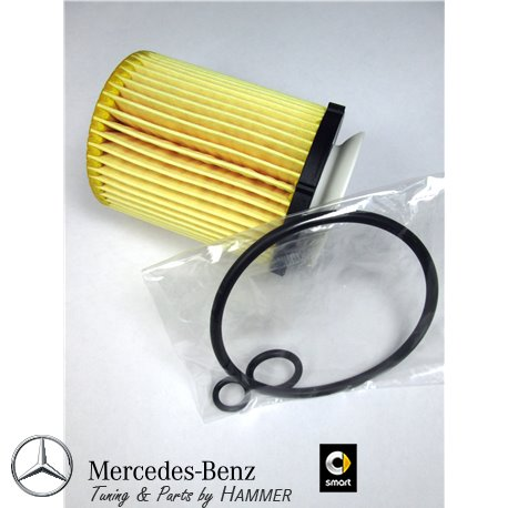 Original Mercedes-Benz Ölfilter A2701800109 Filtereinsatz für Motor M270 / M274