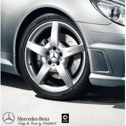 Original Mercedes-Benz AMG Felge 5-Speichen 18 Zoll titansilber 203 171 208 209
