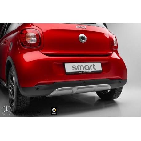 Original smart forfour 453 BRABUS optischer Unterfahrschutz hinten A4538804402