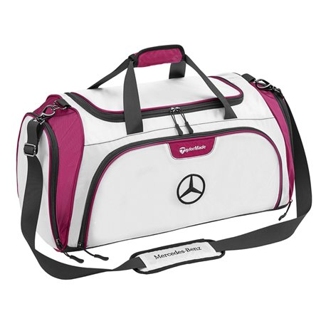 Original Mercedes-Benz Sporttasche Golftasche TaylorMade weiß plum B66450154 x
