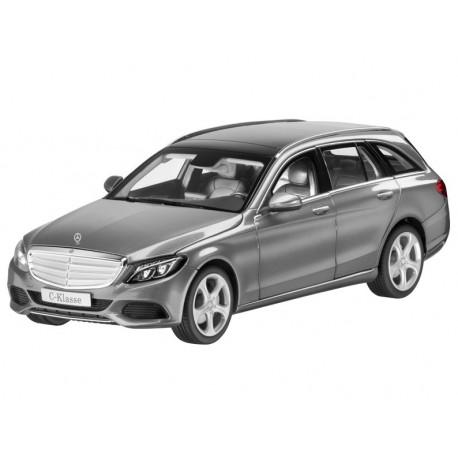 Original Mercedes-Benz C-Klasse S205 Modell palladiumsilber 1:18 Norev x