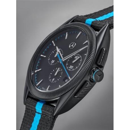 Original Mercedes-Benz Armbanduhr Chronograph Uhr Herren Sport Fashion M3