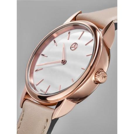 Original Mercedes-Benz Armbanduhr Damen Basic roségoldfarben B66954184