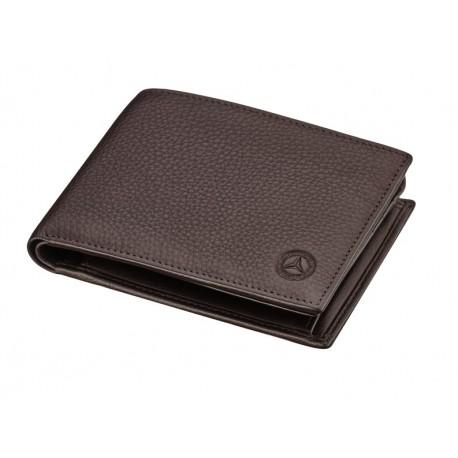 Original Mercedes-Benz Geldbeutel Geldbörse braun Rindleder Bric´s B66042014