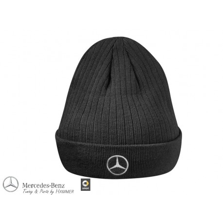 Original Mercedes-Benz Strickmütze Mütze Actros schwarz B67871437