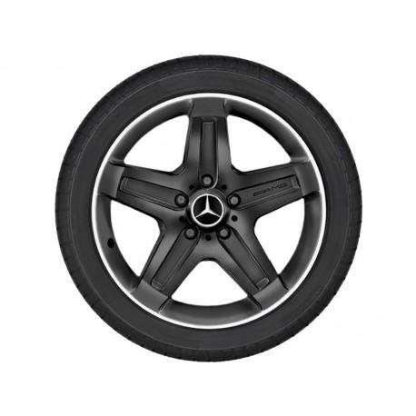 4x Original Mercedes-Benz Winterräder G-Klasse 463 Dunlop 265/55 R19 gebraucht