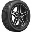 4x Orig. Mercedes AMG Sommerräder A-Klasse B-Klasse CLA Brigdestone 225/45 R18
