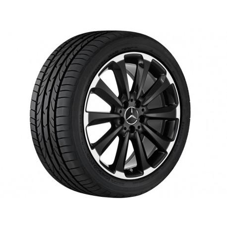 4x Orig. Mercedes-Benz Sommerräder C-Klasse 205 Pirelli 225/40 R19 & 245/35 R19