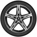 4x Orig. Mercedes-Benz Winterräder A-Klasse B-Klasse Bridgestone CLA 225/45 R18