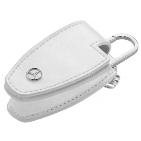 Orig. Mercedes-Benz Schlüsseletui Schlüsselhülle Schlüsseltasche weiß B66958405
