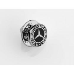 Original Mercedes-Benz Anstecknadel Pin Lorbeerplakette schwarz B66953551