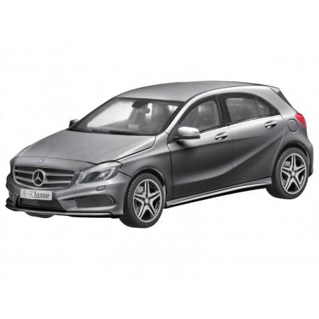 Orig. Mercedes Modellauto 1:18 A-Klasse AMG W176 Sportpaket Norev grau B66960125