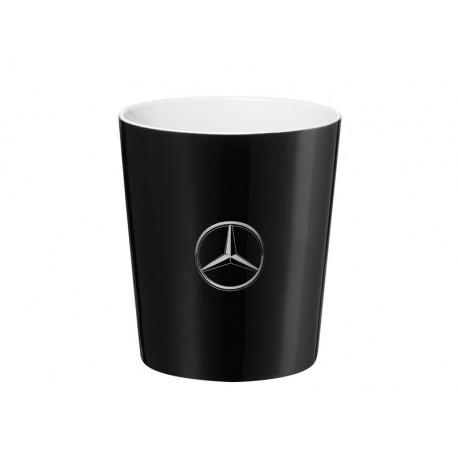 """Original Mercedes-Benz Kaffeebecher, Kaffeetasse """"Stuttgart"""", Schwarz/weiß"""