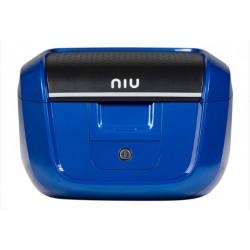 Original NIU Top Case Topcase klein blau inkl. Gepäckträger für M+ & MQi+