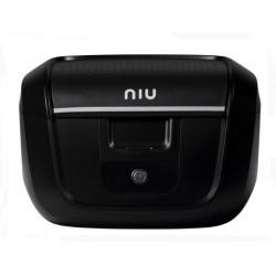 Original NIU Top Case Topcase klein schwarz inkl. Gepäckträger für M+ & MQi+