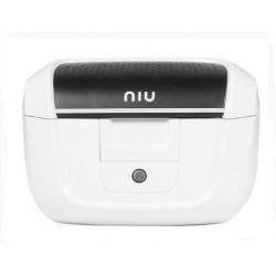 Original NIU Top Case Topcase weiß inkl. Gepäckträger für M+ & MQi +
