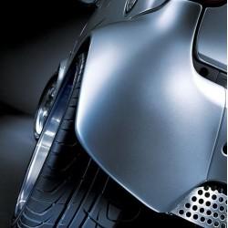 Original smart 450 Cabrio Kotflügelverbreiterung Set links und rechts hinten