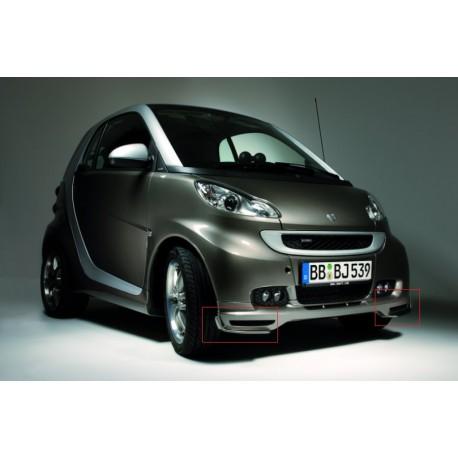 Original smart 451 Cabrio BRABUS Frontflaps Flaps Set A4518800108 grundiert