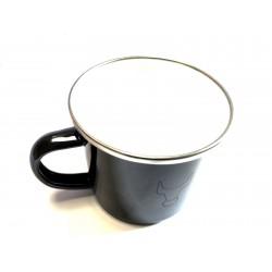 Original Mercedes-Benz Unimog Tasse Becher Kaffeetasse emailliert 500ml Q424000