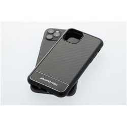 Original Mercedes-Benz AMG Hülle Schutzhülle für iPhone 11 Pro Carbon B66955397