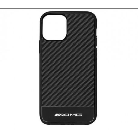 Original Mercedes-Benz AMG Hülle Schutzhülle für iPhone 11 Carbon B66959094