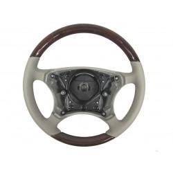 Orig. Mercedes-Benz Holz Leder Lenkrad Wurzelnuss quarz S-Klasse 220 B66268391