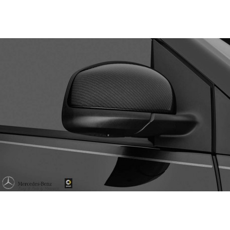 Original smart BRABUS Außenspiegelkappen in Carbonoptik für smart 453 fortwo A4538102700