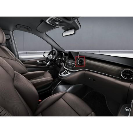 Original Mercedes-Benz Belüftungsdüsen in Turbinenoptik schwarz V-Klasse 447