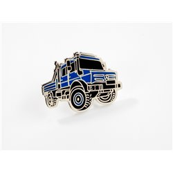 Original Mercedes-Benz Unimog Pin blau Anstecknadel Ansteckpin