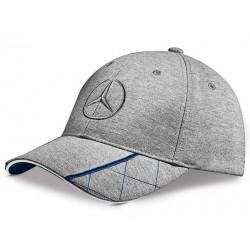 Original Mercedes-Benz Cap Basecap Baseballmütze Herren grau blau