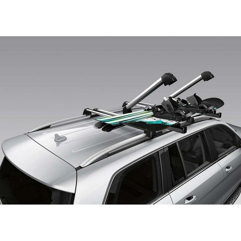 Original Mercedes-Benz Ski und Snowboard Träger New Alustyle Komfort