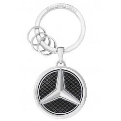Schlüsselanhänger Las Vegas silber Mercedes Benz Edelstahl leuchtend B66958326