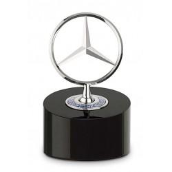 Briefbeschwerer schwarz / silberfarben, Aluminium / Metall